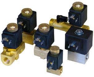 Magneettiventtiilit kaasuille ja nesteille