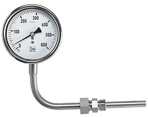 Typpivälitteinen sauva lämpömittari
