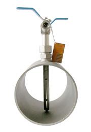 Pitot virtausmittari höyrylle kaasuille ja nesteille kierreliitäntä